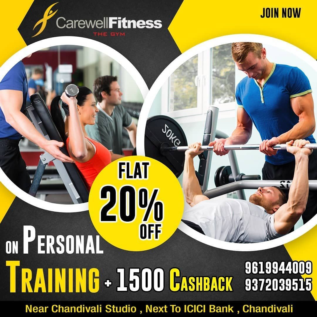 #Call #Flat #Hurry #Personal #Training Flat 20% off on personal training!! Hurry Up!! Call us -  91...