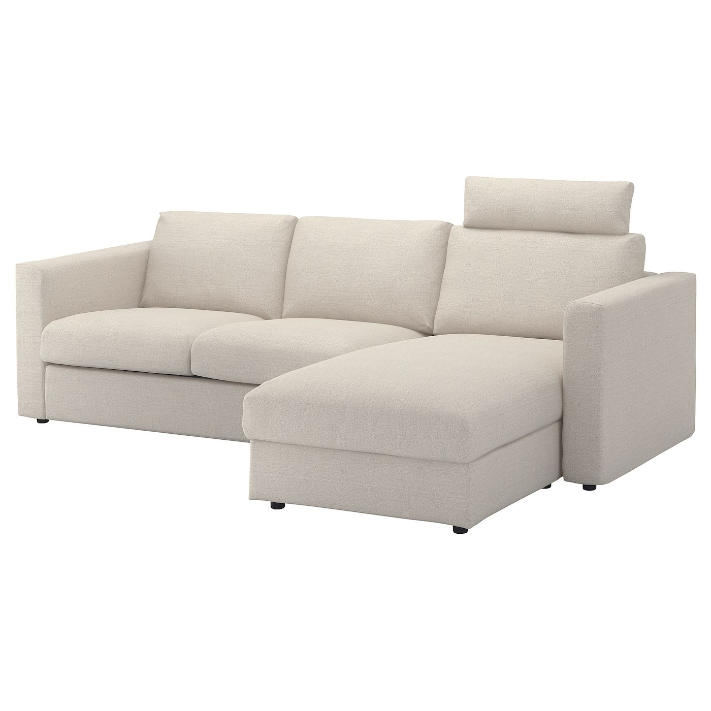 Vimle Sofa With Chaise Headrest
