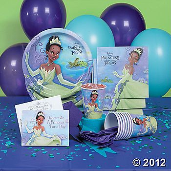 All the basics for a Princess and the Frog party