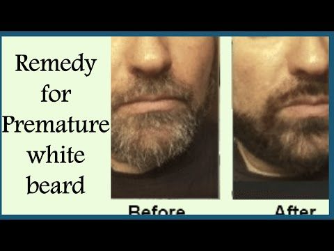 Magical Remedies For PREMATURE GREY BEARD/Remove WHITE HAIRS
