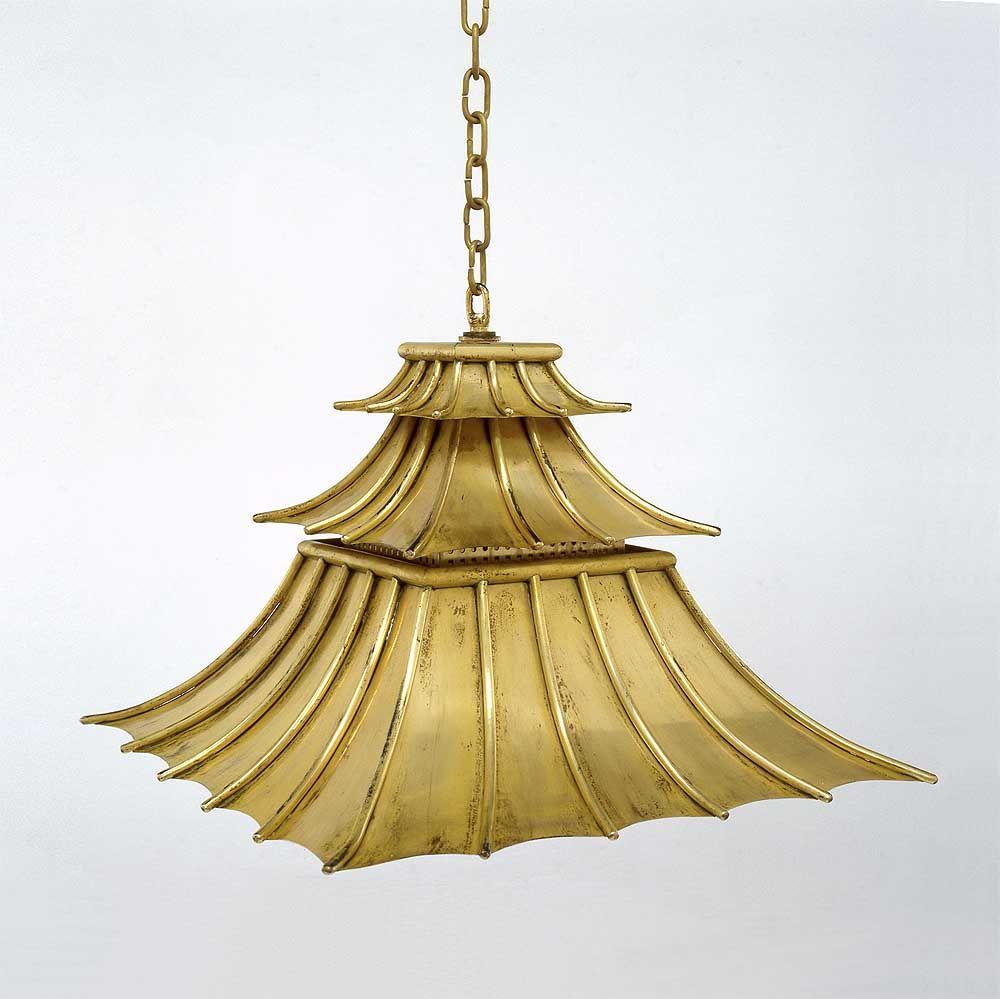 Hanging downturned pagoda shade charles edwards objects pagoda pendant lantern chinoiserie lighting via charles edwards arubaitofo Choice Image