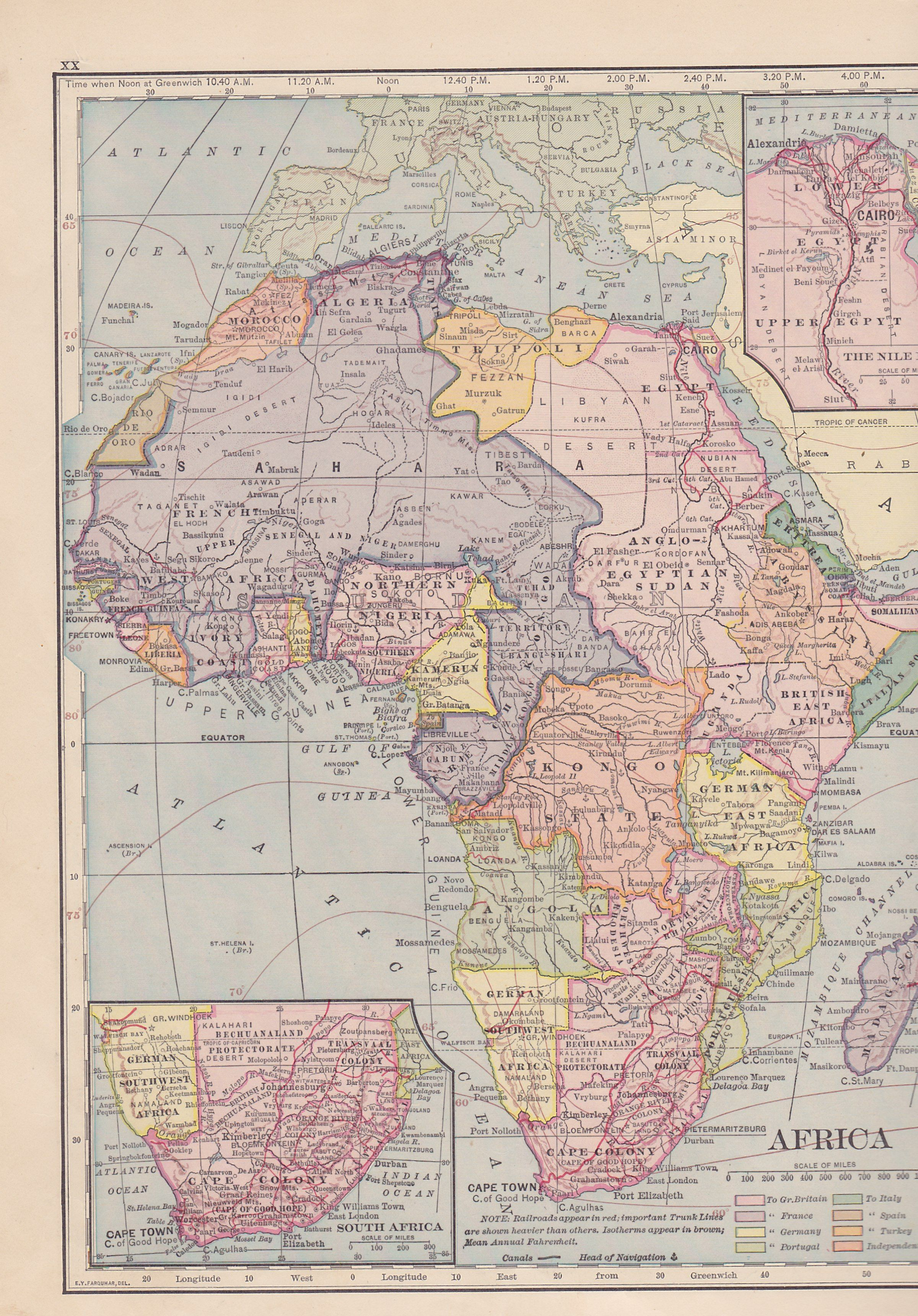 Advanced Geography of Africa