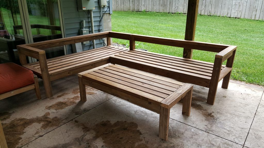 Diy outdoor sectional couch outdoor sectional couch diy