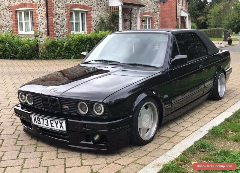 Car For Sale Bmw E30 325i Convertible Mtec Ii Turbo 260 Bhp