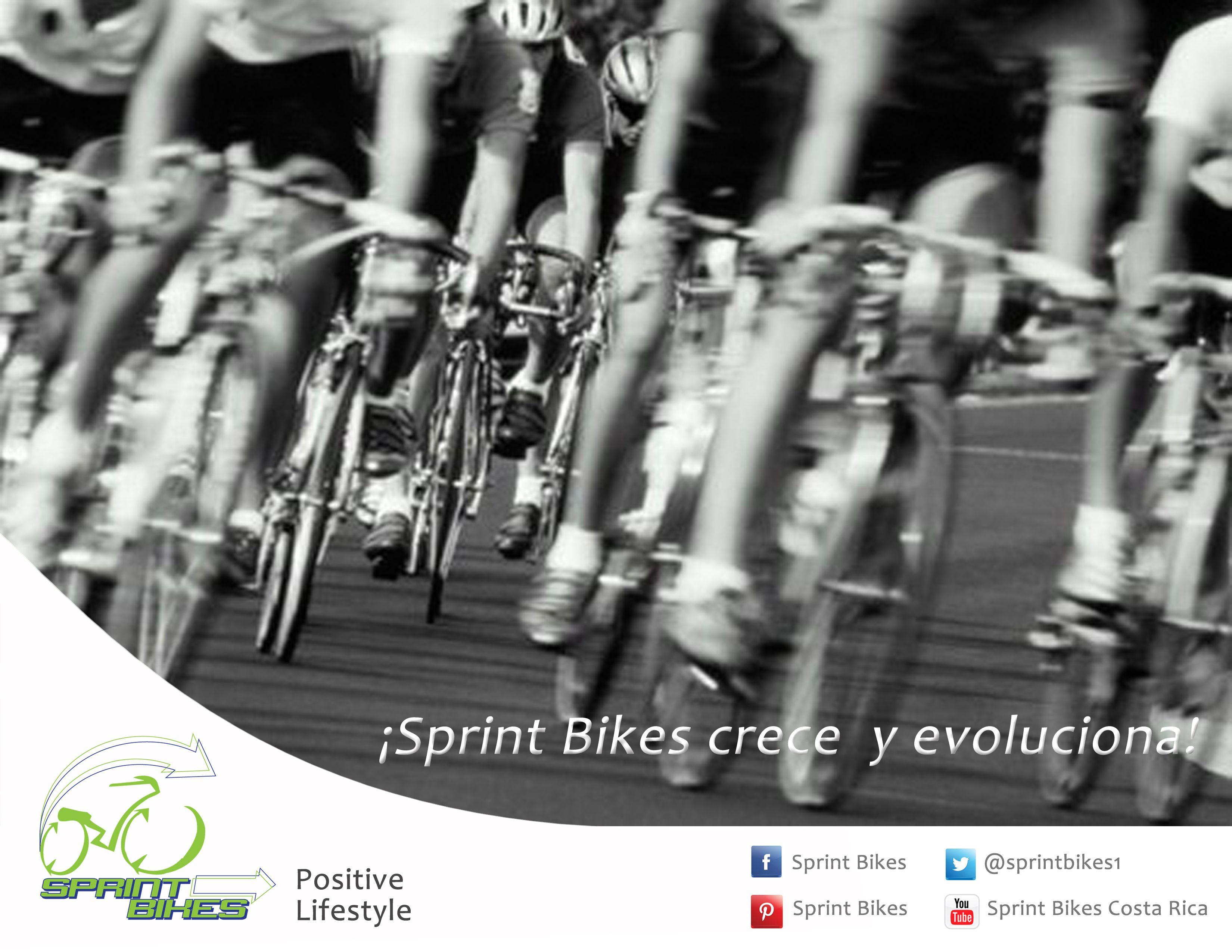 ¡Sprint Bikes crece y evoluciona! Muy pronto...