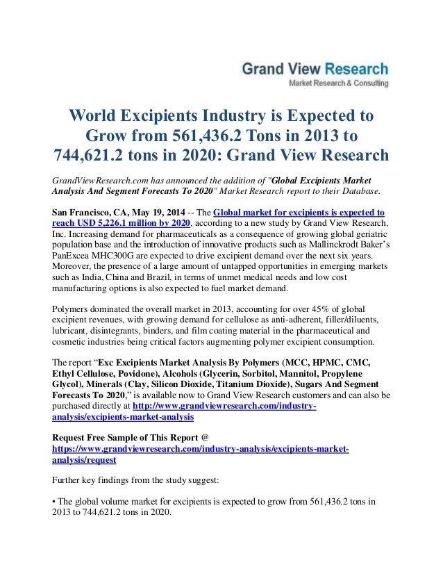 GrandviewresearchCom Has Announced The Addition Of Global Powder