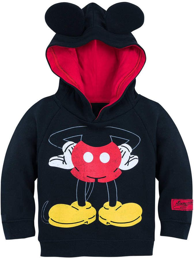 b0ad1c0de6b2 Disney I Am Mickey Mouse Pullover Hoodie for Baby