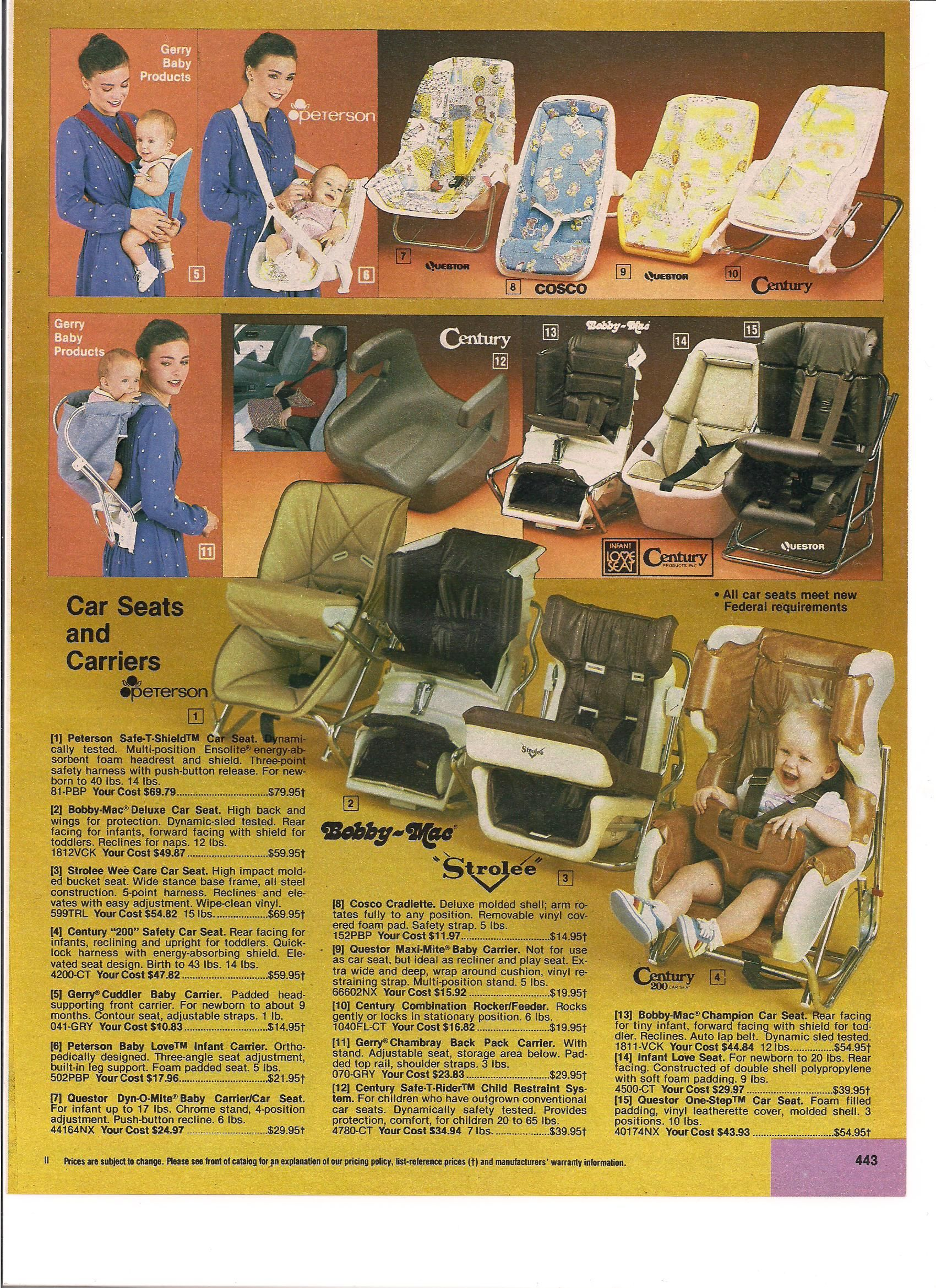Service Merchandise 198182 I came home forward facing in