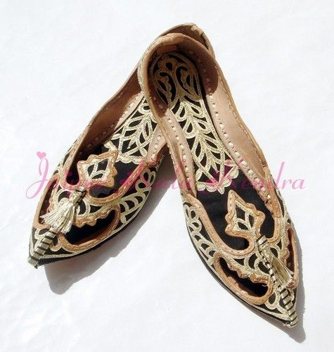3328af15346 Indian Handmade Pakistani Women S Shoe US Size 6 Mojari Jooti Footwear  Khussa