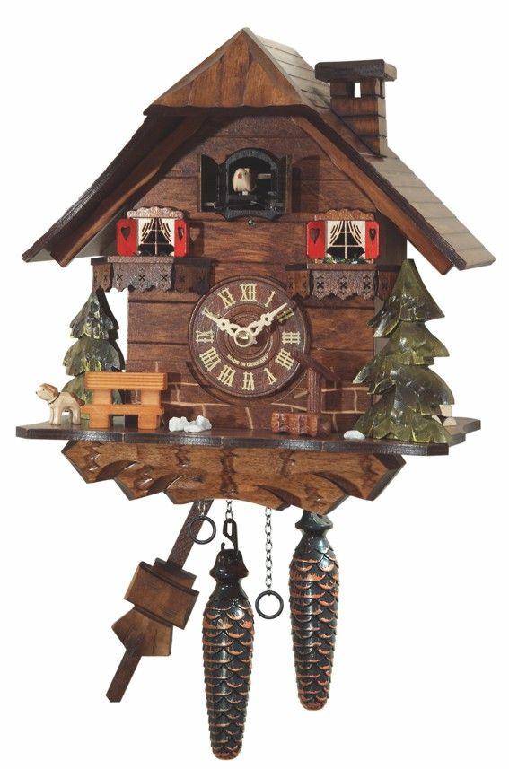Reloj Cuco Dresden Reloj De Cuco Relojes De Pared Relojes De Pared Antiguos