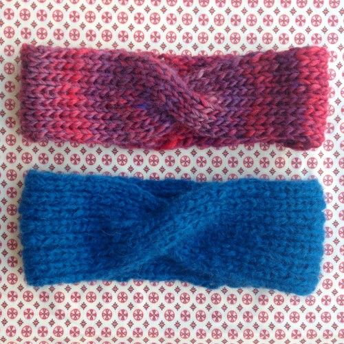 simple knitted headband with pattern | Getting Creative | Pinterest ...