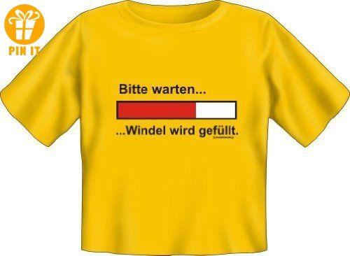 Baby Fun Shirt Mit Spruch Bitte Warten Windel Wird Gefllt Kinder T