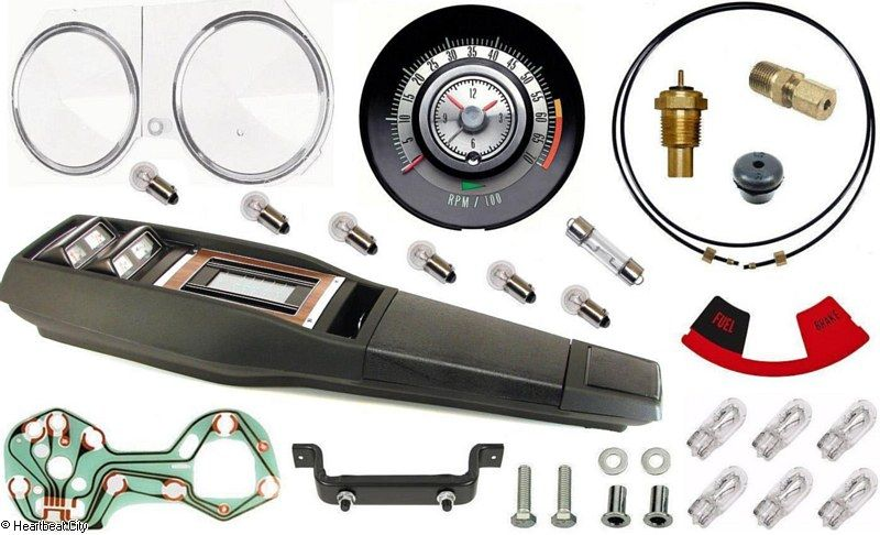 Camaro Tach dash/console gauges Turbo 1968 2,149.95