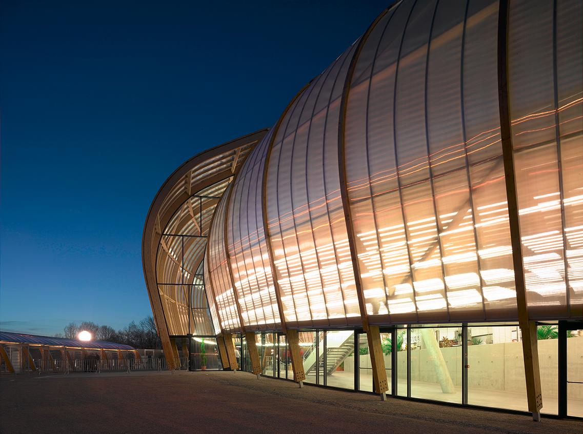 Limoges Concert Hall Limoges France Bernard tschumi Concert