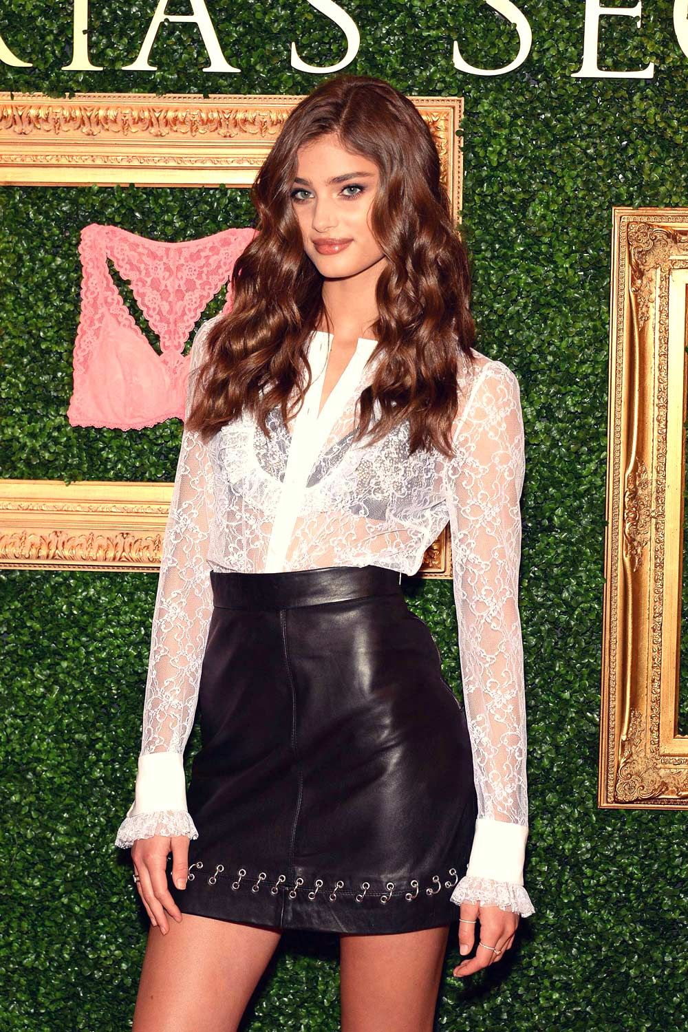 Taylor Hill attend Victoria's Secret Bralette Collection Launch ...