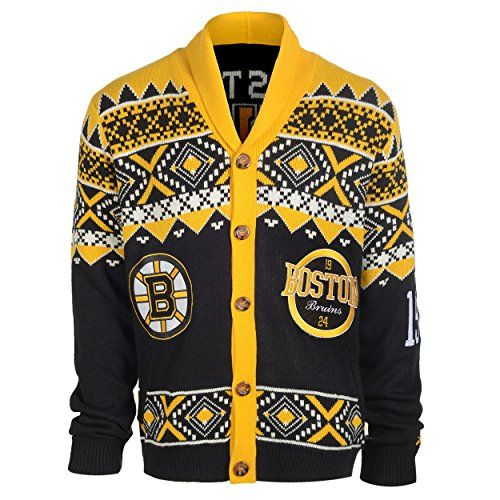 Boston Bruins Christmas Sweater Nhl Christmas Sweaters Pinterest