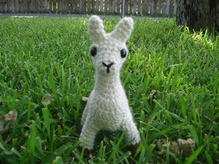 Ravelry: free crochet pattern for llama