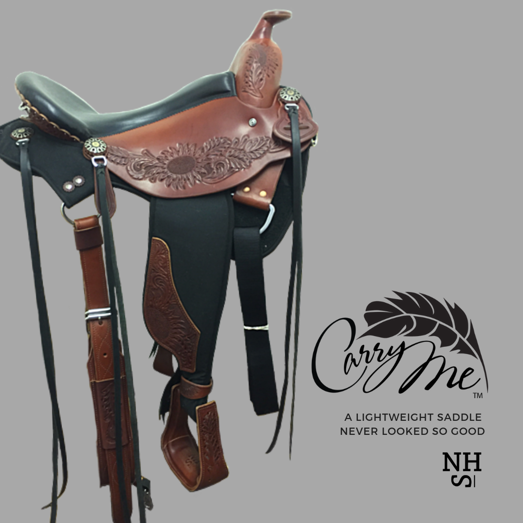 The Carry Me By Nhs Saddles Saddle Fitting Western Saddle
