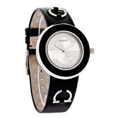 836c057b5b5 GUCCI LADIES 129 U-PLAY SERIES INTERCHANGEABLE LEATHER BAND SWISS QUARTZ  WATCH - Polished Stainless