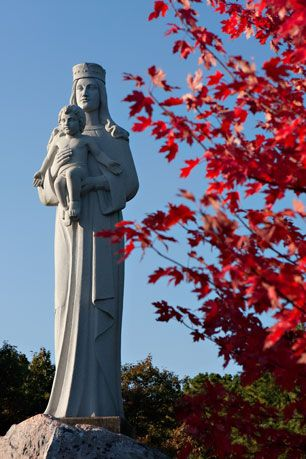 Our Lady Of The Island Shrine In Mannorville Long Island Ny