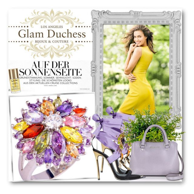 """""""Glam Duchess"""" by glamduchess ❤ liked on Polyvore featuring Paperchase, Dsquared2, Michael Kors and NYX"""