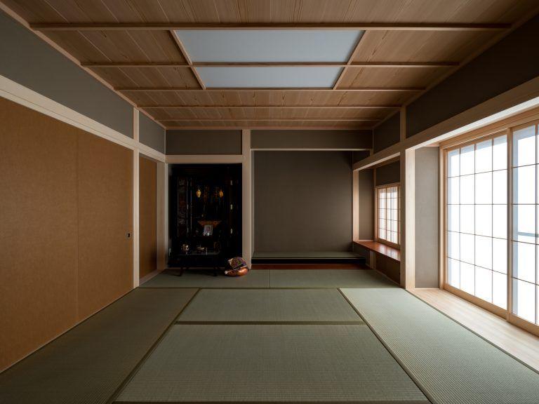 書院 床の間 仏間 羽重ね張り エキップ 和室 天井 和室 モダン