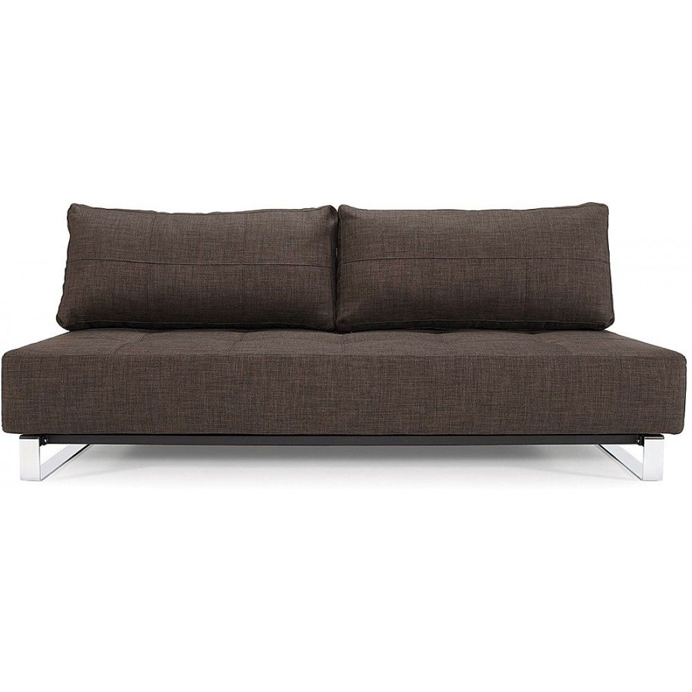 Supremax Deluxe Excess Sofa Bed Begum Dark Brown By Innovation Usa