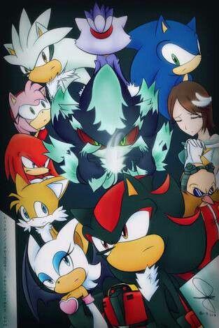 Sonic Silver Shadow Mephiles Rouge Kunkles Tails Amy Blaze Dtr Egman Princces