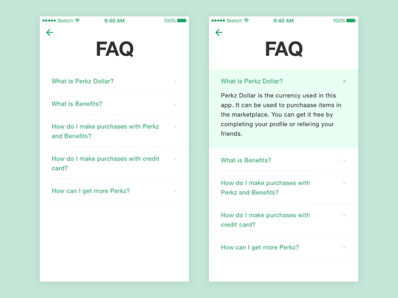Faq In 2020 Web Design Tools Android Design Android App Design