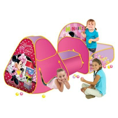 Minnie Mouse Play Zone Play Tent...possible birthday present  sc 1 st  Pinterest & Minnie Mouse Play Zone Play Tent...possible birthday present ...