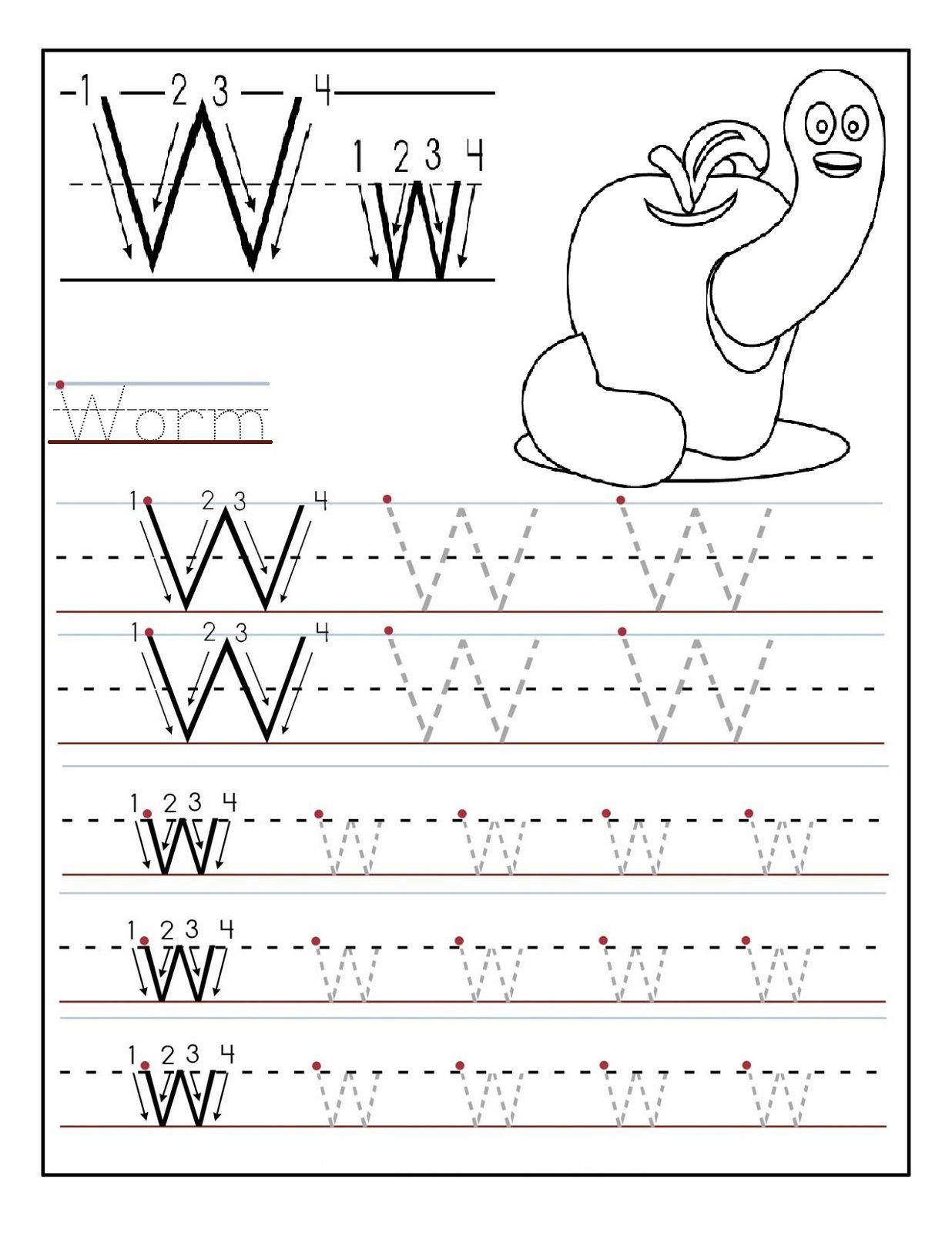 2 Printable Letter Worksheets X Y Preschool Printables Letter W For Stud Tracing Worksheets Preschool Alphabet Worksheets Preschool Writing Practice Worksheets Tracing letter w worksheets for