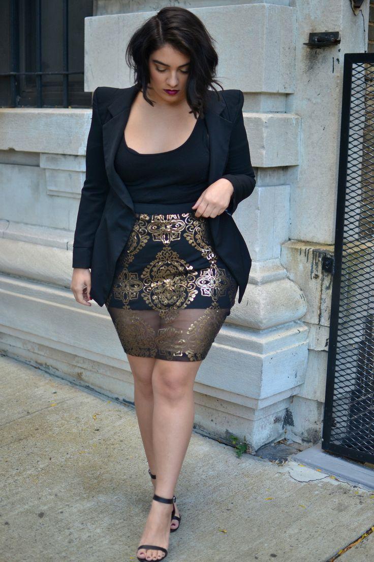 Seductive plus size dresses