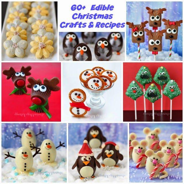 Superb Edible Christmas Craft Ideas Part - 13: Hungry Happenings: 60+ Edible Christmas Crafts And Recipes