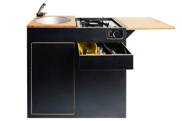 Neuheit Calibox Küchenmodul für VW T6