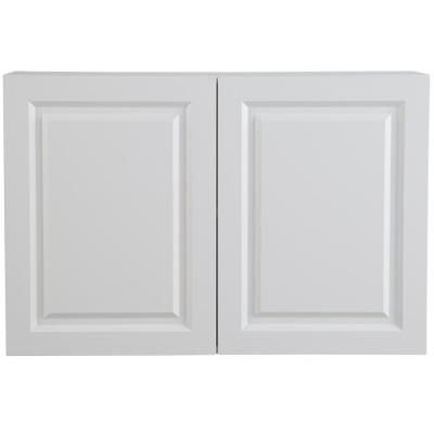 Wall Cabinet In White