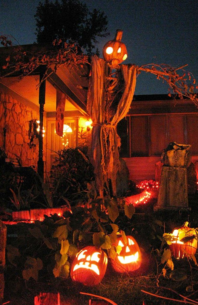 30 Yard Halloween Decorations Ideas Diy halloween yard decorations