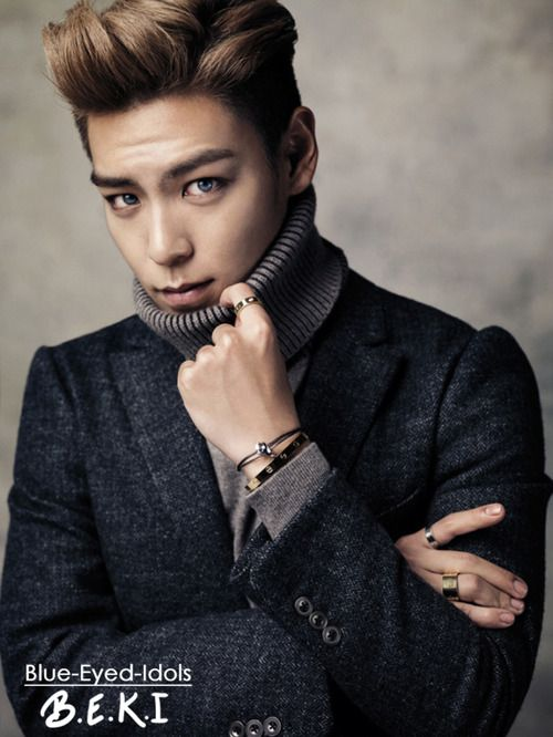 BLUE EYED K POP IDOLS 298 Choi Seunghyun TOP
