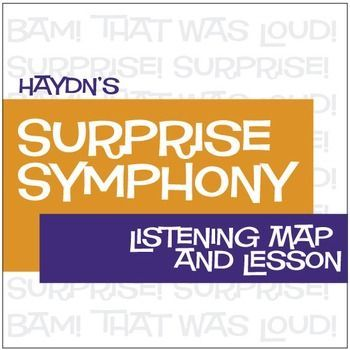 Surprise Symphony Listening Map and Lesson Digital Print CLICK