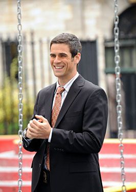 Eddy Cahill as Connor Wallace in Conviction   Eddie cahill