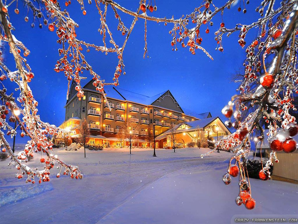 Free Winter Nature Wallpapers High Resolution Hoteles