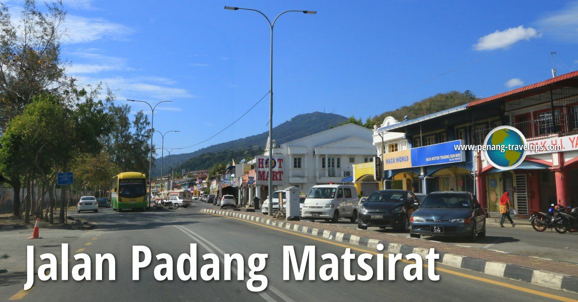 Jalan Padang Matsirat, Langkawi