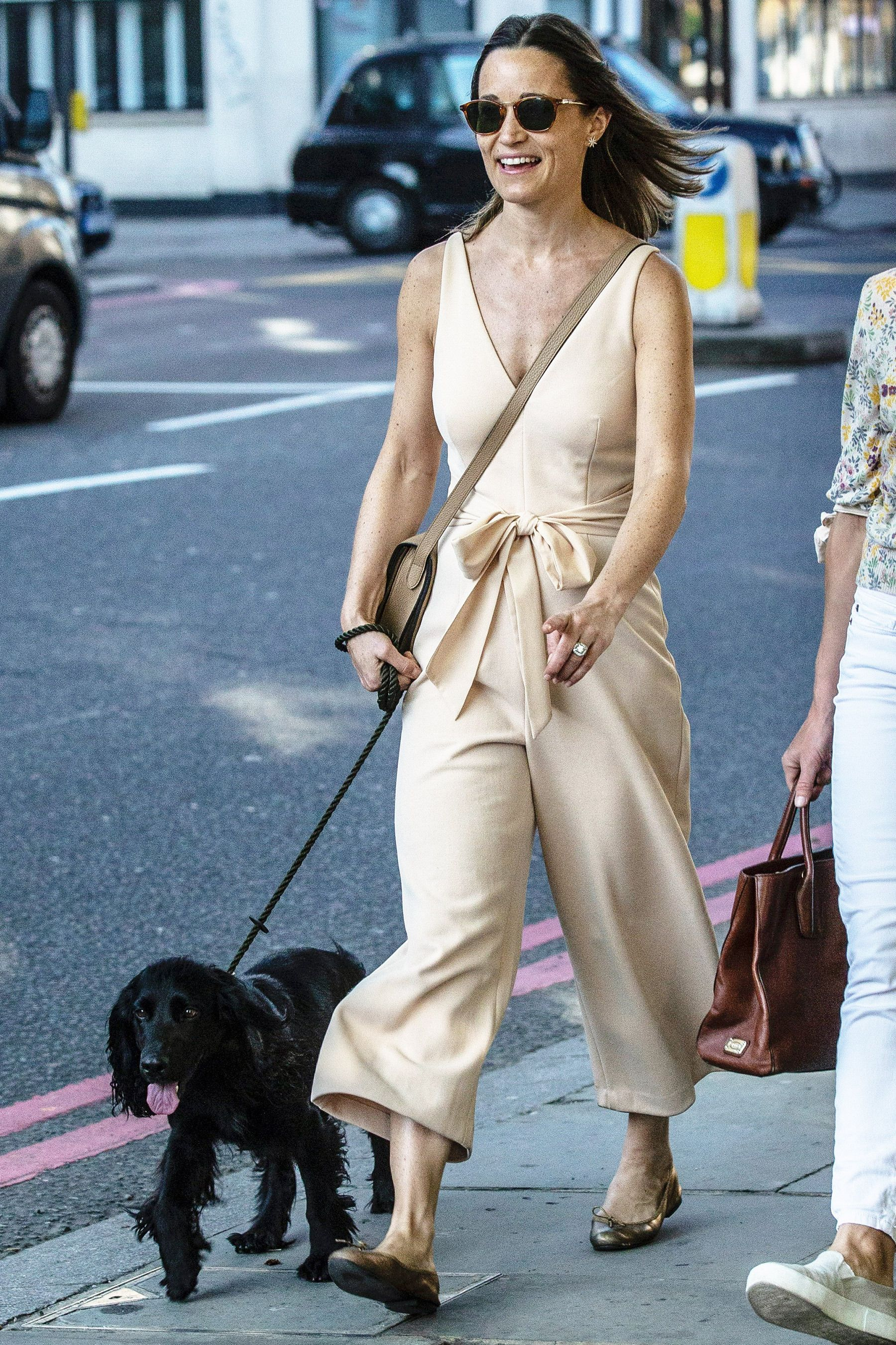 See Pippa Middleton Step Out with Her Dogs Hours Before Her ...