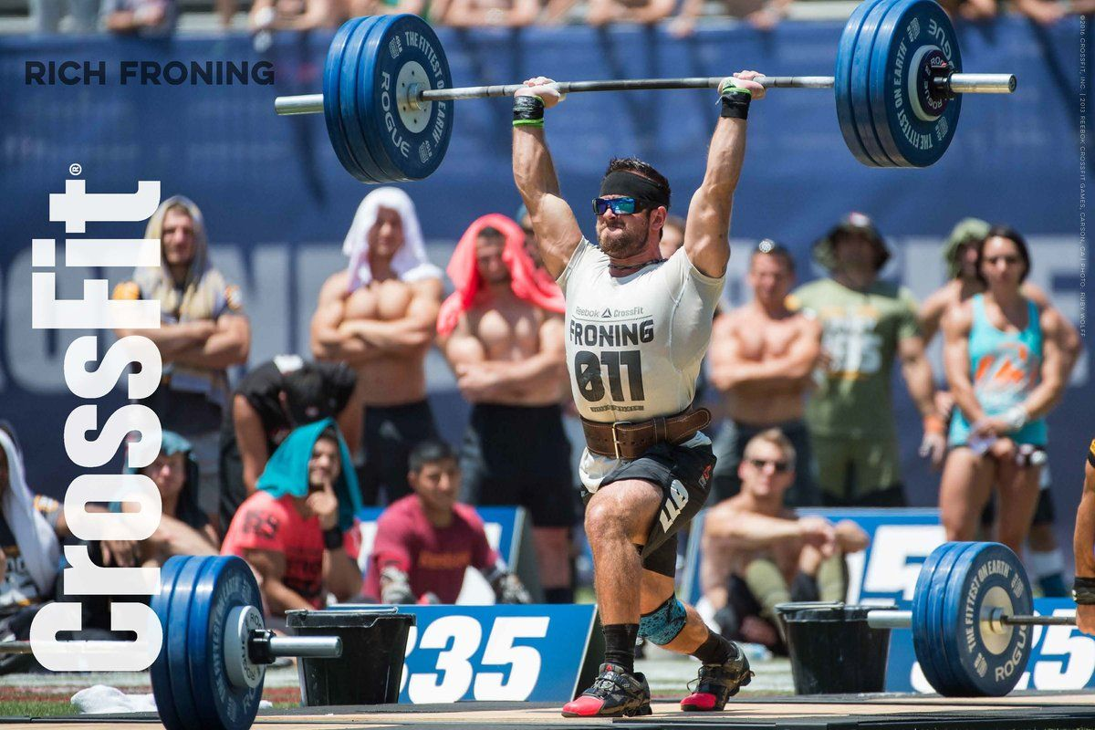 Pin by Patwright on CrossFit in 2020 Rich froning