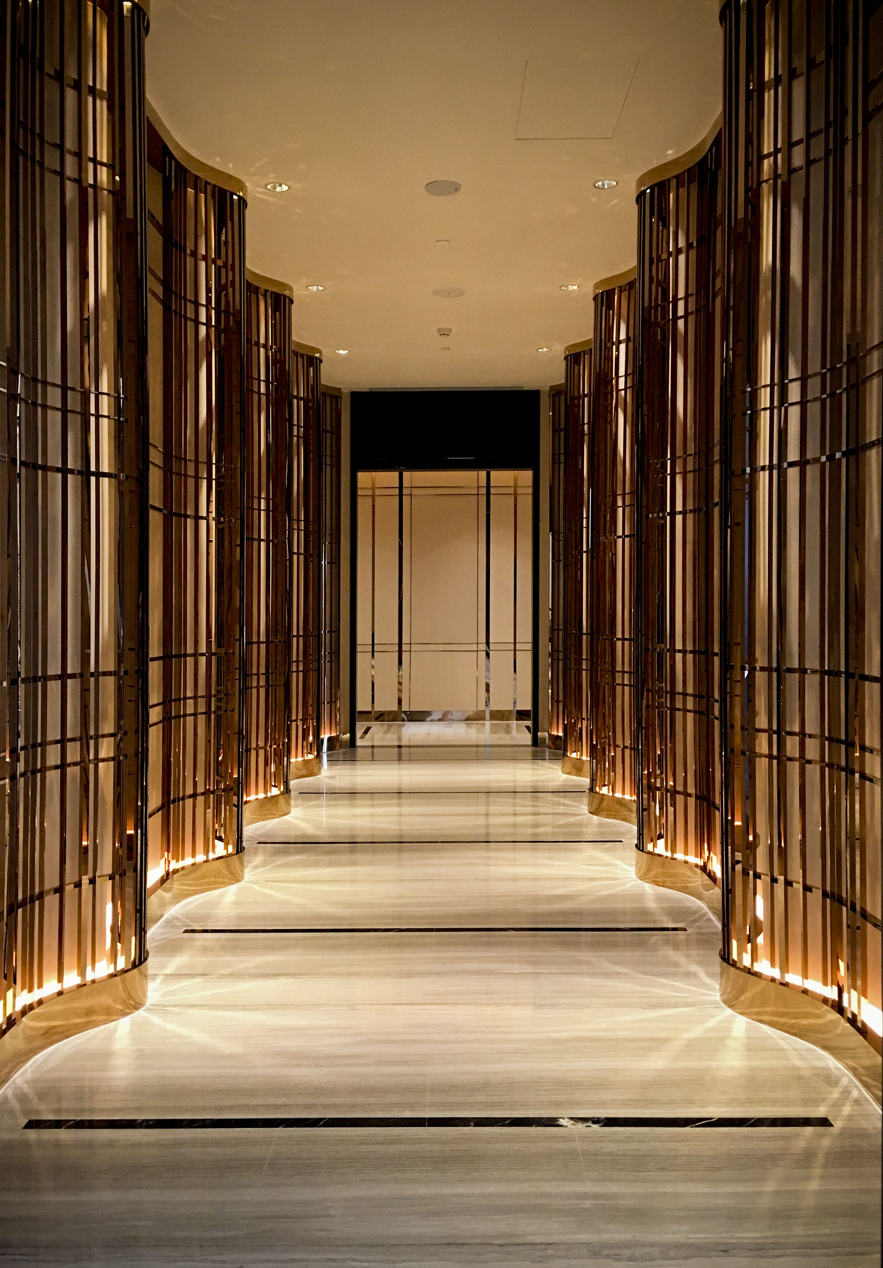 Intercontinental shanghai necc by hba design top - Hotel interior and exterior design ...