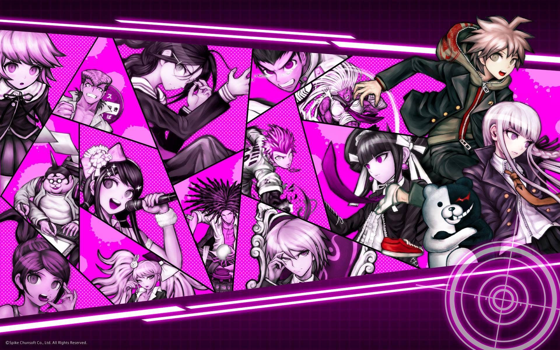 Danganronpa 1 Danganronpa Anime Anime Wallpaper