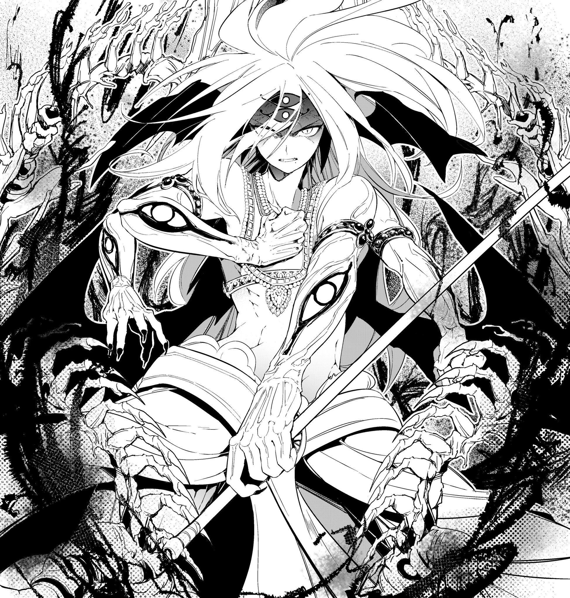 Hakuryuu Ren Magi The Labyrinth of Magic