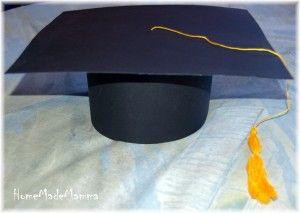 Un cappello per la laurea  come realizzare un Tocco  13c53e4f513e