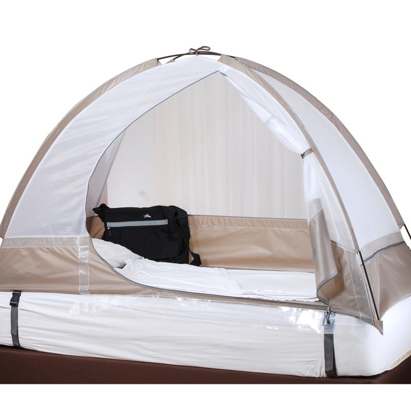 Bed Bug Tent-Bed Bugs Proof Net.-Preventing Bed Bugs While Traveling-Single  sc 1 st  Pinterest : tent for bed - memphite.com