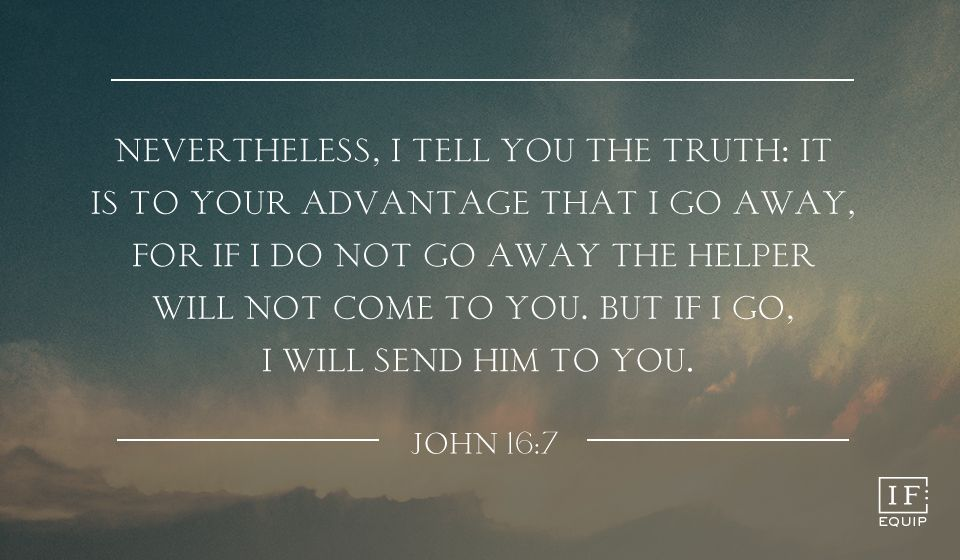 Image result for john 16: 7