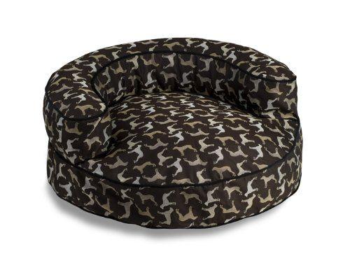 Fabrics Round Rotator Bolster Cat Bed